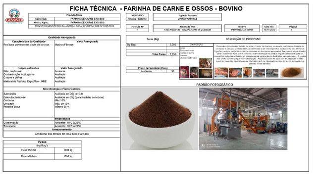 Farinha de Carne e Osso, Farinha de Sangue - Foto 4