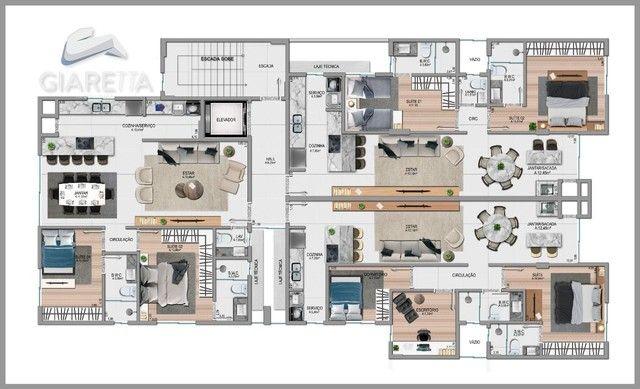 Apartamento á venda,115.00m², JARDIM LA SALLE, TOLEDO - PR - Foto 16
