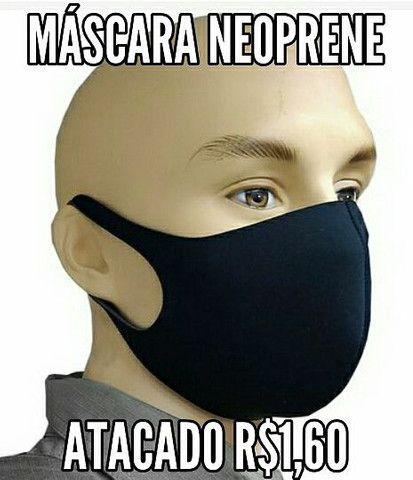 Máscara Neoprene tecido Envio grátis