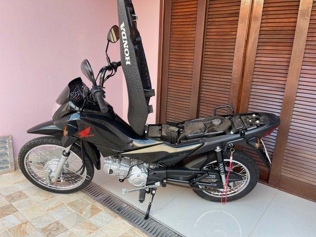 Honda POP 110i 2020 Estado de zero (800km) Aceito trocas parcelo cartão financio  - Foto 8