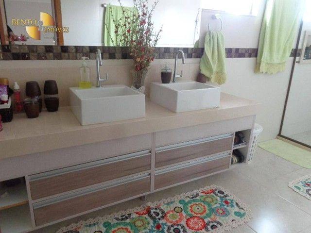 Casa com 5 dormitórios à venda, 490 m² por R$ 2.200.000,00 - Condomínio Florais Cuiabá Res - Foto 12
