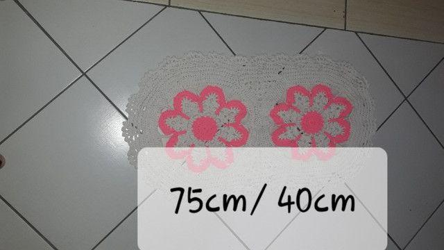 Tapetes em croche - Foto 2