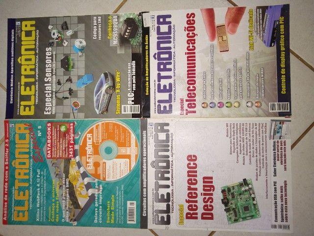 Revistas de eletrônica  - Foto 4