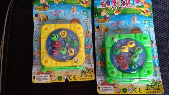 Brinquedo Pega Peixe