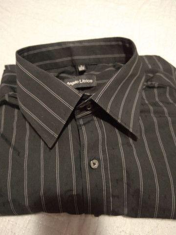 Camiseta Social tam. 3, veste 40/41. Semi nova. - Foto 2