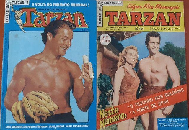 Tarzan-kit Pranchas Dominicais Russ Manning-Ebal 1976 - Foto 6