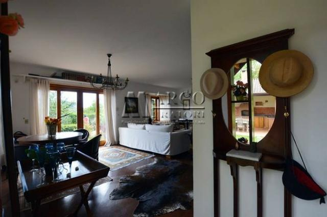 Casa em condomínio , 3 dorm + 3 quartos externos, linda vista com churrasqueira - Foto 7