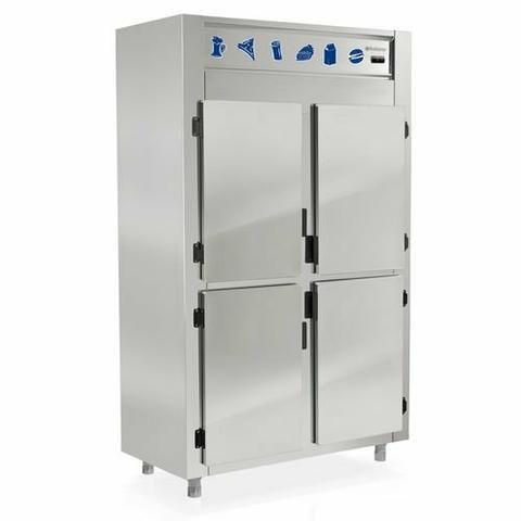 Refrigerador Comercial Inox 4 Portas GREP-4P Gelopar 110v