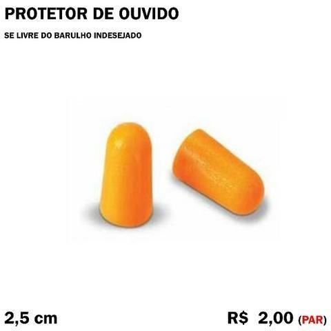 Protetor Auricular Anti Barulho (5 Pares)