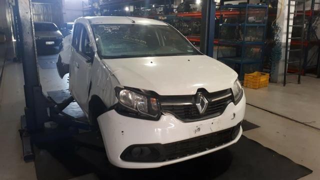 Sucata Renault Logan 2015/16 1.6 106cv Flex - Foto 3