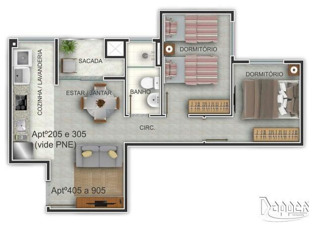 Apartamento à venda com 2 dormitórios em Ideal, Novo hamburgo cod:15322 - Foto 7