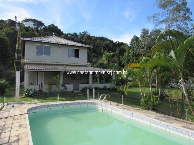 Caetano Imóveis - Sítio de luxo localizado em condomínio de alto padrão (confira!) - Foto 6