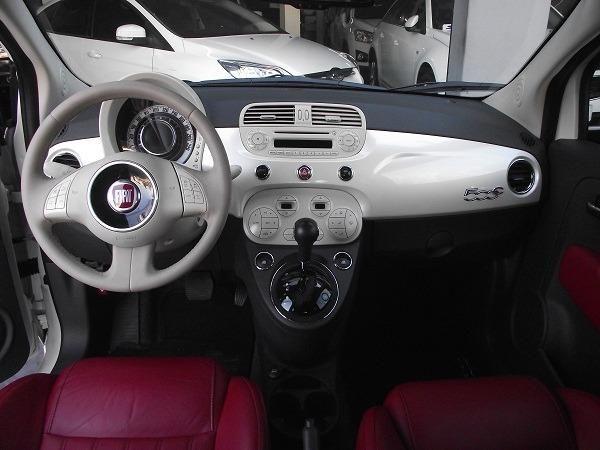 Fiat 500 Cabrio Air 1.4 Automático Conversível 13/14 Branco Cód. 7272 - Foto 9