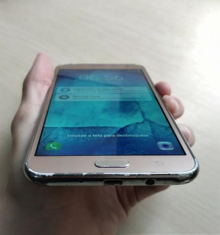 Samsung Galaxy J7 Duos SM-J700M Original Dourado - Foto 2