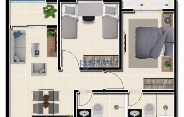 Apartamento residencial à venda, Lagoa Redonda, Fortaleza. - Foto 6