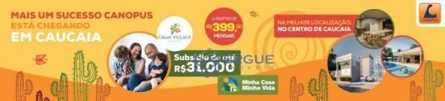 Apartamento na Caucaia R$199,00 de sinal ITBI e Registro Grátis - Foto 5
