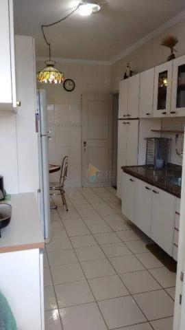 Cobertura com 3 dormitórios para alugar, 256 m² por r$ 5.000/mês - canto do forte - praia  - Foto 12