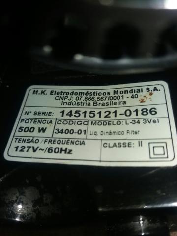 Liquidificador Mondial 500w (SEM JARRA) - Foto 4