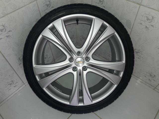 Rodas aro 20 com pneus + molas esportivas do Cruze - Foto 9