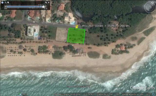 Terreno à beira mar 44x34 em guaxuma - Foto 2