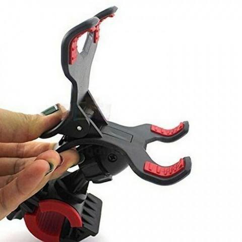 Suporte Universal De Moto Bicicleta Para Gps Celular - Foto 6