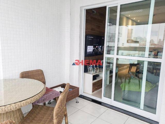 Apartamento com 2 dormitórios à venda, 64 m² por R$ 600.000,00 - José Menino - Santos/SP - Foto 6