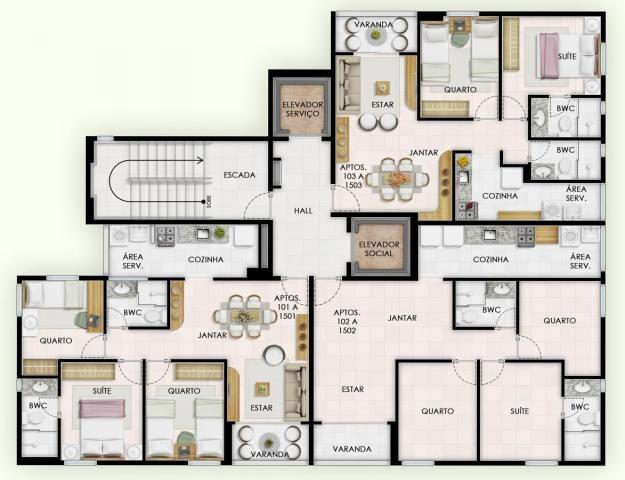 Apartamento para Venda em Recife, Torre, 3 dormitórios, 1 suíte, 2 banheiros, 2 vagas - Foto 14