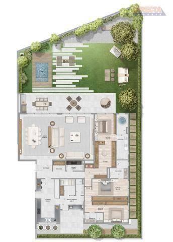 Apartamento com 3 dormitórios à venda, 285 m² por R$ 3.721.000,00 - Jurerê Internacional - - Foto 20