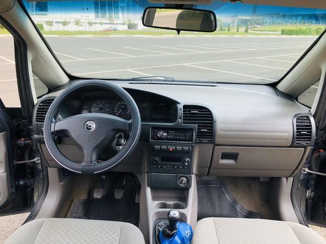 Chevrolet Zafira 2.0 Comfort 8v flex 2008 Vendo, troco e financio - Foto 6