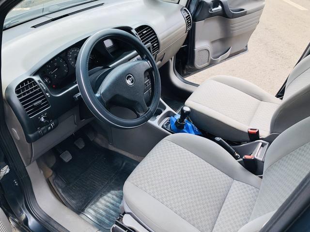 Chevrolet Zafira 2.0 Comfort 8v flex 2008 Vendo, troco e financio - Foto 9