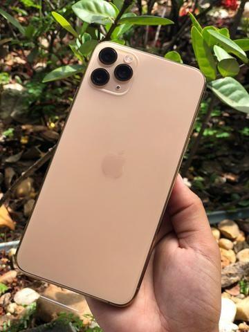 Iphone 11 pro max_64 gb_ novo, garantia apple