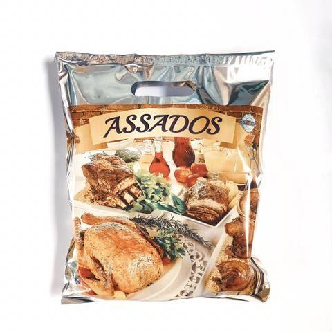 Embalagem Sacola Térmica para Frango Assados e Carnes - Foto 2