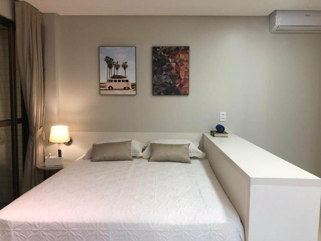 Alugo apartamento de 1 quarto, vista mar, - Foto 6