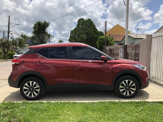 Kicks 2018 1.6 modelo S Flex Vermelho primeiro dono - Foto 2