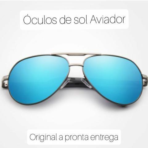 Óculos de sol azul clássico - Foto 2
