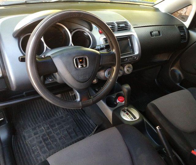 Vendo Honda Fit EX1.5 automático completo!! - Foto 9