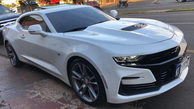 Camaro 2019 SS v8 com 3.800 km placa a na garantia de fábrica novíssimo