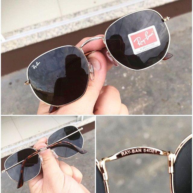 Óculos de sol RayBan hexagonal - Foto 2