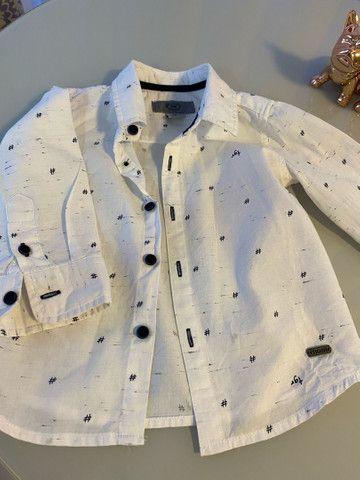 Vendo colete e camisas tamanho 1