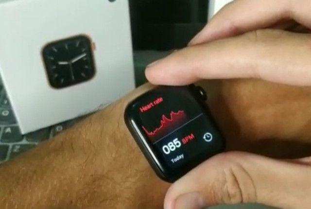 Smartwatch Digital (Iwo W26 / Tela Infinita) Produto Original - Frete Grátis! - Foto 5