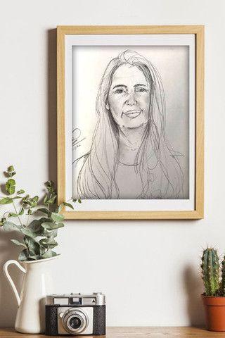 ?Retrato/ Desenho realista personalizado??? - Foto 2