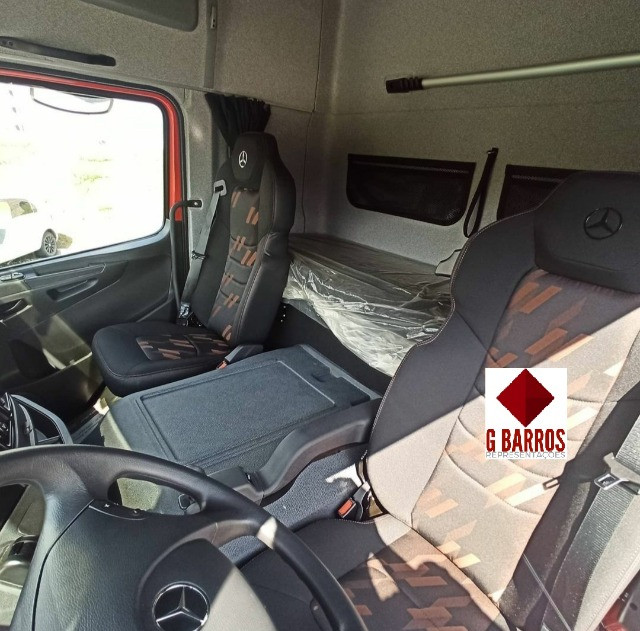 MB Atego 3030 8x2 Aut Completo (Chassis) 2021 - Foto 2