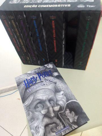 Box livros Harry Potter 20 anos