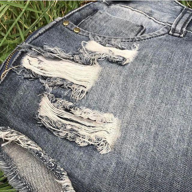 Short-saia jeans  - Foto 2
