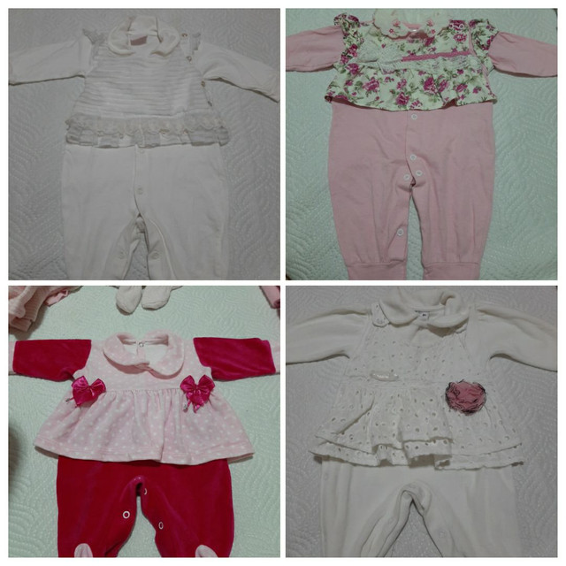 Vendo Combo de Roupinhas de bebê Menina (Semi Novas) - Foto 6