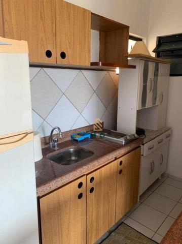 Apartamento com 1 dormitório para alugar, 52 m² por R$ 1.300/mês - Porto das Dunas - Aquir - Foto 12