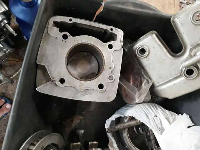 Motor Honda XR 250 Tornado , desmontado com procedência, sem o cabeçote ! - Foto 4