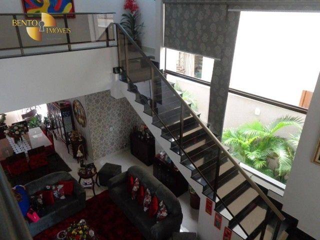 Casa com 5 dormitórios à venda, 490 m² por R$ 2.200.000,00 - Condomínio Florais Cuiabá Res - Foto 14