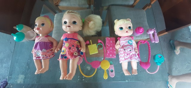 Kit Bonecas baby alive