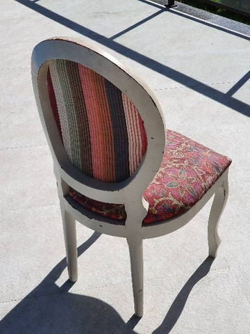 Cadeira Medalhão Antiquário - Foto 4